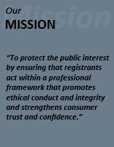 Saskatchewan Real Estate Commission (SREC) Mission Statement